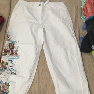 Chico casual/lounge/beach  pants size 3